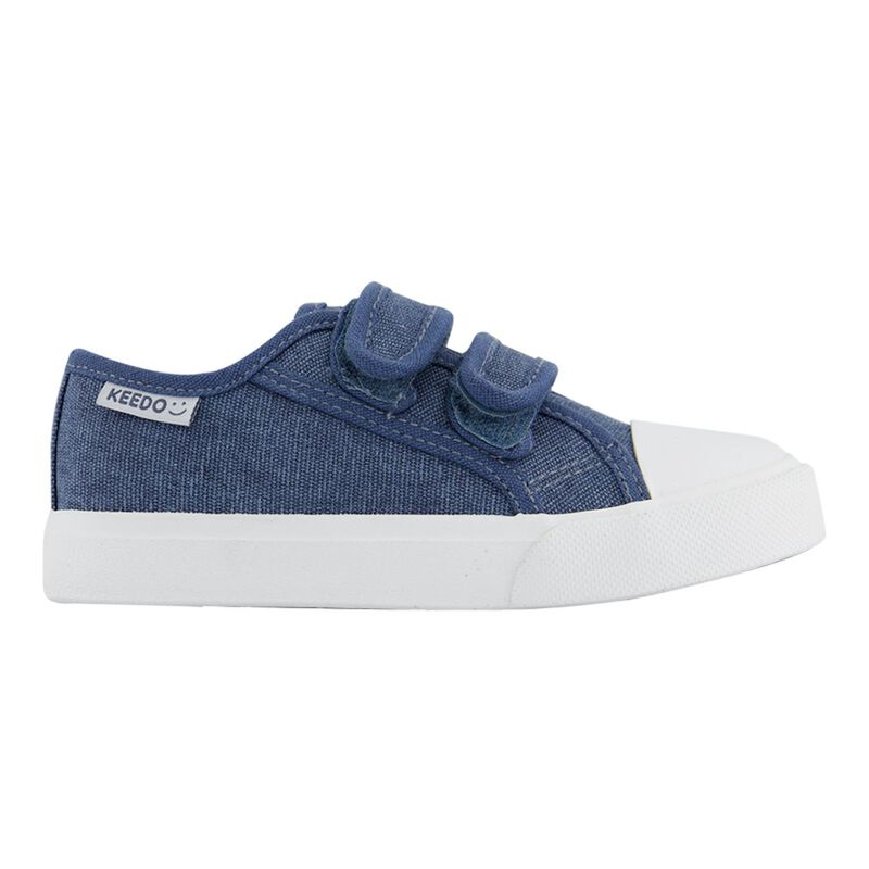 Boys Trey Strap Sneakers  -  dc0700