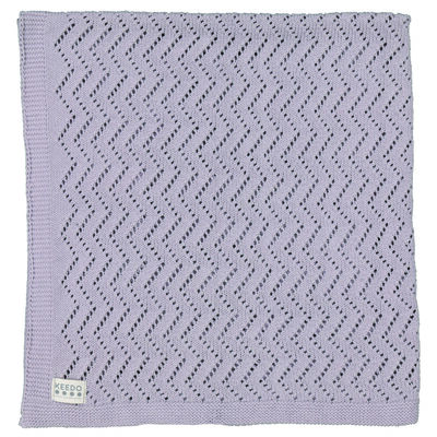 Babies Lacey Grey Blanket