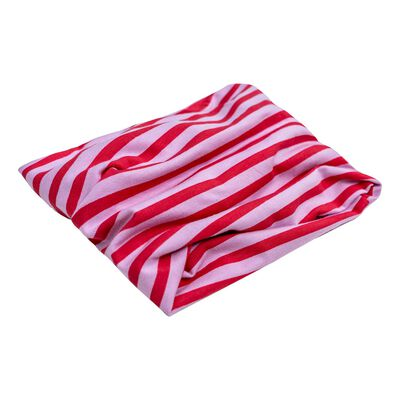 Girls Keedmask Stripe Tubular Scarf