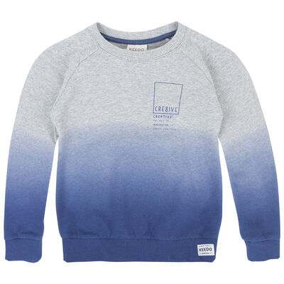 Boys Robbie Dip Dye Sweater