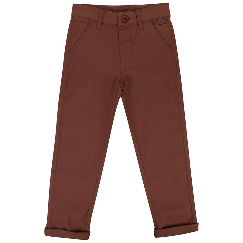 Boys Douglas Chinos -  copper