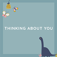 Gift Card - Thinking About You -